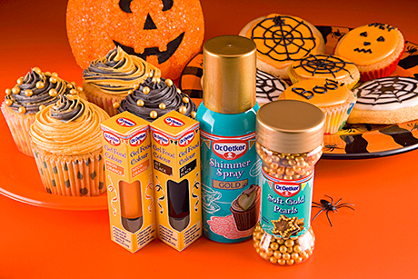 Dr Oetker gears up for Halloween with a new range of baking accessories to inspire kids and adults alike.