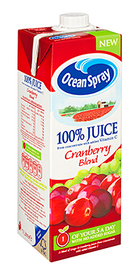 Cranberry is the UK's third favourite juice flavour, after apple and orange.