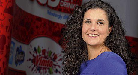 Vimto Soft Drinks marketing manager Emma Hunt