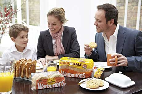 Warburtons is currently running a major marketing campaign which highlights many of its products and their roles at different meals. The campaign began in the early part of this year with ads featuring Warburtons lines as part of a family breakfast.