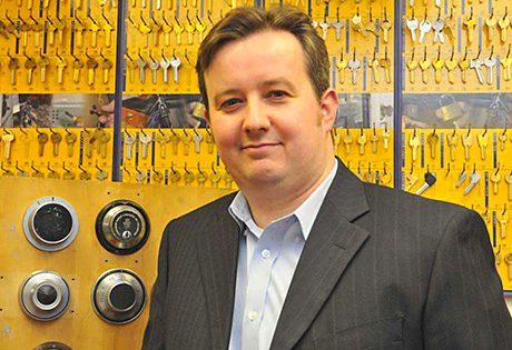 Dr Steffan George, development director, Master Locksmiths Association.