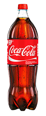 Coke's 1.75l format, designed for c-stores, is ideal for big-night-in shoppers looking for soft drinks for family and friends.