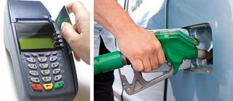 Plans to cap credit card charges, which can hit petrol dealers hard, may not be implemented until 2015 or later. Recalculated figures show supermarkets take a greater share of fuel sales than previously reported.v