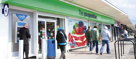 Like-for-like sales at The Co-operative Food were down 1.1% in the first six months of the year compared to the equivalent period the year before.