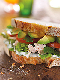 Warm weather in September helped return good figures on sandwiches, and ready meals did well, but like-for-like food sales dropped.