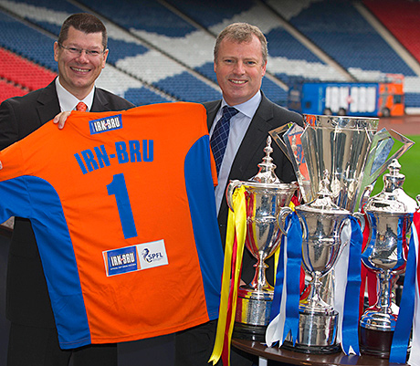 Neil Doncaster and Adrian Troy