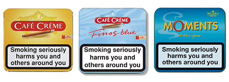 STG UK's Café Crème range includes four of the top 20 cigars in terms of UK volume sales. Its Moments value for money range of miniature cigars has moved into the top 10 with Moments Miniatures Blue.
