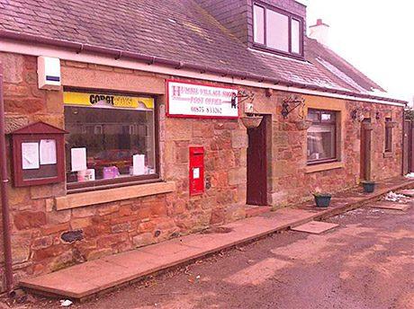 Humbie Post Office, East Lothian.