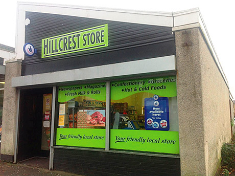 Hillcrest Store, Bo'ness.