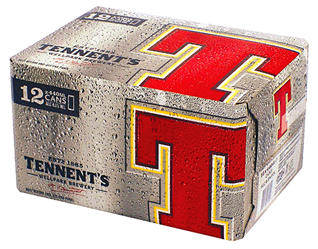 Strong brands like Tennent's are especially important to Scottish take-home beer sales.