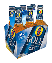 Foster's Gold, one of Heineken's portfolio of long alcoholic drinks. The company sees premiumisation as a key trend in the sector.