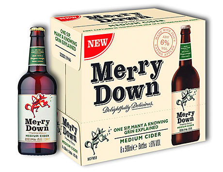 Merrydown introduced a new 6% ABV line earlier this year following what the firm said was a positive response in YouGov consumer research. It gained listings in Booker, Batley's and others.Merrydown introduced a new 6% ABV line earlier this year following what the firm said was a positive response in YouGov consumer research. It gained listings in Booker, Batley's and others.
