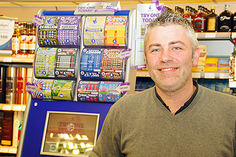 Scott Graham of McLeish in Inverurie, highly commended in this year's Scottish Grocer Confectionery Retailer of the Year Award. His stock mixes the well-known, well-supported brands and items that are quirky and not often found elsewhere.