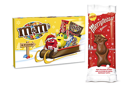 Selection boxes appeal to last-minute gift shoppers, while individual treats offer personal indulgences from early in the season.