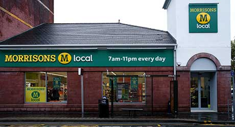 The first Scottish outlet in supermarket giant Morrison's M Local c-store chain has opened in Kilmarnock's Titchfield Street. Three more are planned in Scotland in the near future, one in Aberdeen and two in Edinburgh.