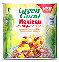Olè! Green Giant goes Mexican
