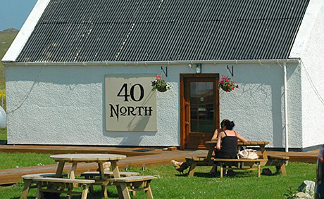 40 North,  in west Lewis, theHighlands and Islands Food and Drink Awards Independent Retailer of the Year for 2013.