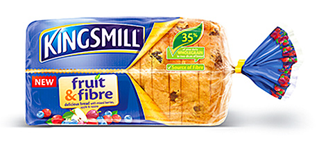 Kingsmill Fruit & Fibre, launched last year to bring bakery goods back to the breakfast table.
