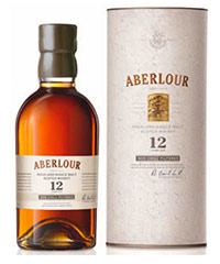 Aberlour 12 year old non-chill-filtered, one of three malts joining the Aberlour range.