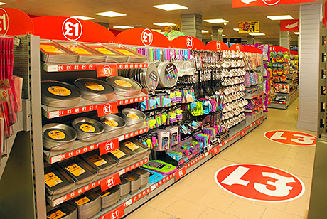 The discount homeware range in the new High Blantyre Family Shopper store –  air fresheners, batteries and winter essentials such as de-icer have all been selling well.