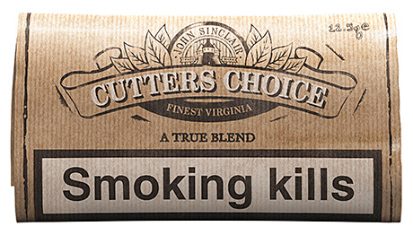 Cutters Choice A True Blend, launched last year by BAT.