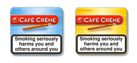 The new look for the UK market-leading cigar Café Crème. Brand owner STG UK says the brand, which had its 50th anniversary last year, has been doing particularly well in independents and symbol stores and in Scotland.