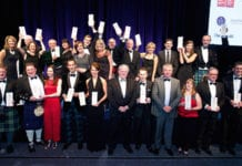 Winners from 22 companies, from start-ups to century-old bakeries, celebrate their victories at the Scotland Food & Drink Excellence Awards.