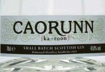 Caorunn, Balmenach Distillery, gin, spirits,