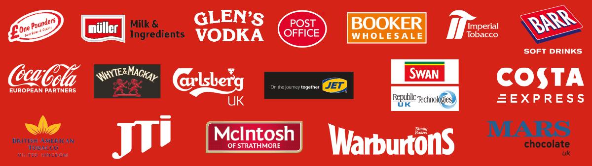 Scottish Grocer Awards 2017 Sponsors