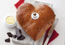 Arytza Food Solutions, Cuisine de France, ValentinesDay, loaf, bread,