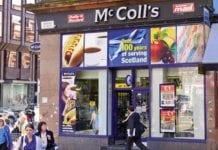 McColls, convenience store, shop, retailer,