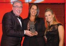 Clare Narey, Manager, Spar, Social Responsibility Award sponsored by Diageo, Scottish Grocer Awards