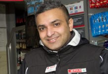 Shakeel Arshad owns two Spar stores