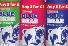 Spar Blue Bear