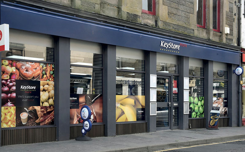 KeyStore More in Bridge Street, Wick, was the first of the new symbol group sites to open. Situated on a busy road in the town centre and incorporating a Post Office, it has had a very successful first few months.