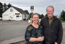 Debbie and Andy Townsend (above) moved from Birmingham to Laide five years ago and took over the local Post Office and forecourt. In a small community, many miles from the nearest supermarket, they are relied on for a lot more than the average corner shop, but have risen to the challenge of meeting the needs of their customers.