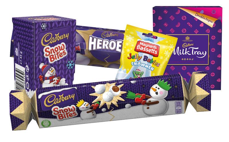 Mondelez International unveiled a raft of Cadbury NPD for Christmas 2017.