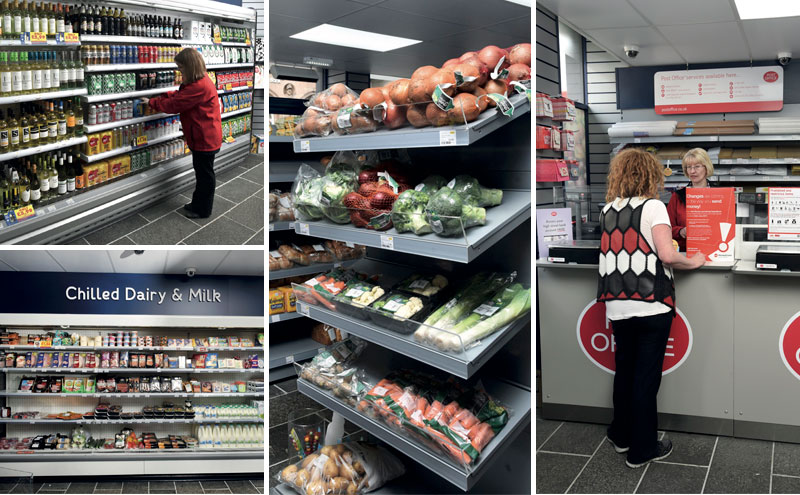At 1500 sq feet, KeyStore More in Bridge Street is almost double the size of owner Rehan's previous store. The layout has been carefully planned to make the most of the available space with systems like Bevtrac used to ensure shelves always look their best. A Post Office counter was introduced to the store in March.