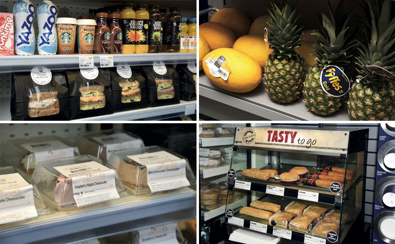 Fresh produce and food to go are key categories for KeyStore More in Bridge Street, locally supplied where possible. As well as sandwiches from Reids of Caithness and cheesecake from Fiona Polson, the store offers an ever-expanding variety of fresh fruit and veg along with fresh bakery and coffee to go from Tchibo.