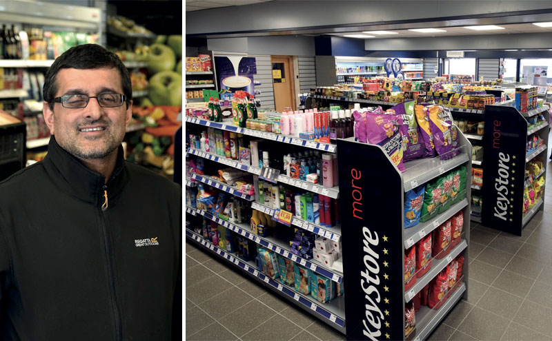When he saw the results at his son Rehan's store, Younes Amin (above) decided he wanted to convert his shop over to KeyStore More as well. The refit has seen the interior completely redeveloped with new layout and KeyStore More branding.