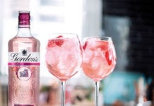 Gordon's Pink and tonic