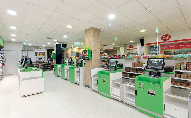 Self-service checkouts, such as EPOS supplier Point Four's ServeAssist checkouts can improve customer experience in store.