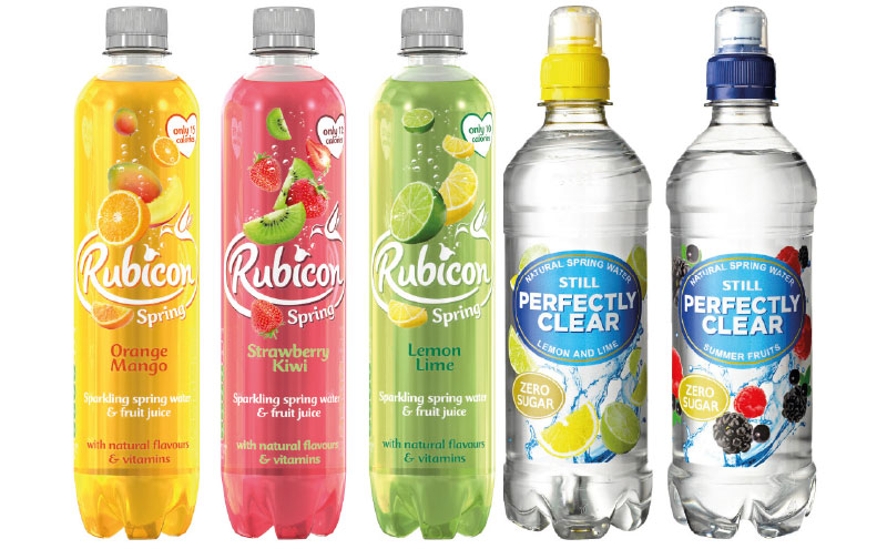 Changing attitudes have driven growth in low-cal and zero sugar flavoured water.