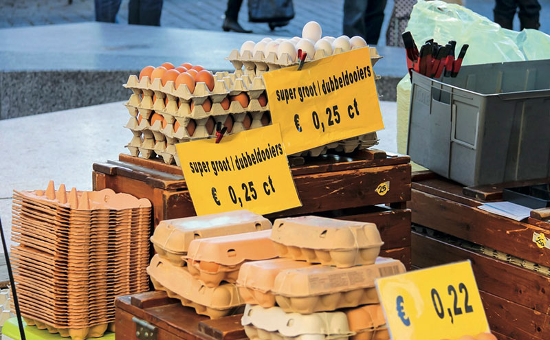 Supply chain woes: Contaminated Dutch eggs caused chaos for supermarkets in August.