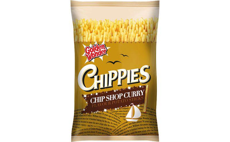 golden wonder Chippies Chip Shop Curry