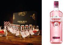 Eden Mill gin and Gordon's pink gin
