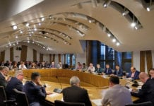 Attendees at the most recent Cross Party Group of Independent Convenience Stores