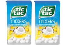 Tictac coconut and pineapple