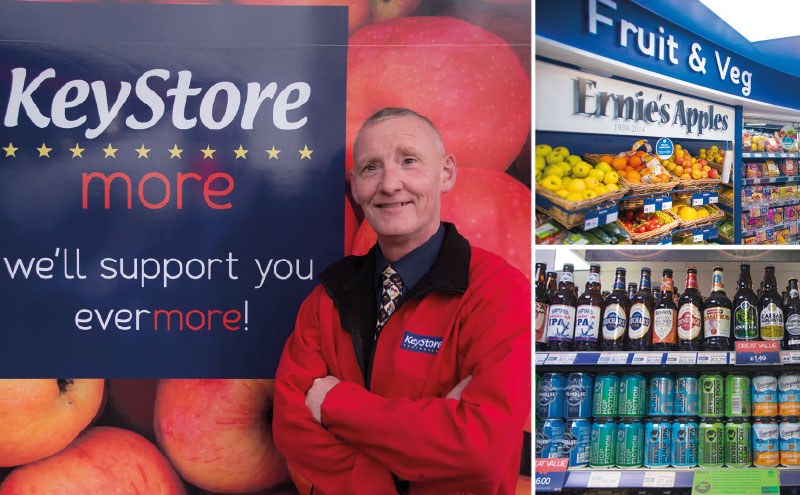 Wilson Rea (pictured) recently converted his Lanark shop to KeyStore More.