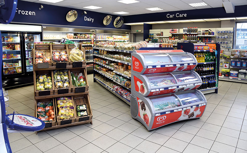 Store layout was designed by Garry and his brother, with assistance from the team at Filshill. Shopfitting was carried out by local specialists Cruden's.